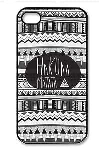Hakuna Matata Iphone 4 4s Case Cover Ui149 ,Apple Plastic Shell Hard Case Cover Protector Gift Idea