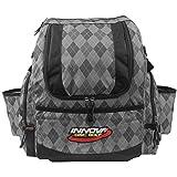 INNOVA HeroPack Backpack Disc Golf Bag (Gray Argyle)
