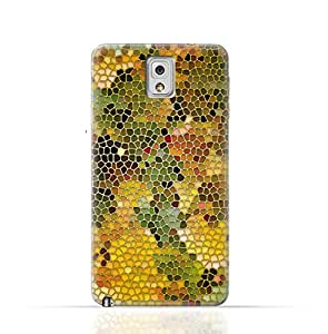 Samsung Galaxy Note 3 TPU Silicone Case with Stained Glass Art