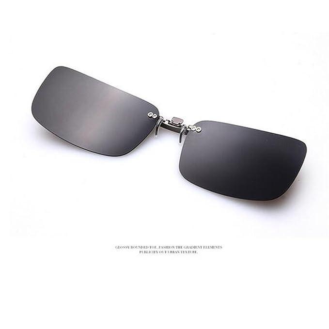 Shsyue Montura con clip de gafas de sol polarizadas para conducción nocturna: Amazon.es: Deportes y aire libre