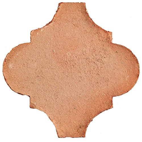 SomerTile FGDTRLTC Linter Spanish Terra Cotta Ceramic Floor & Wall Paving Tile, 6