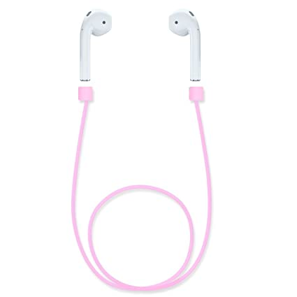 ea8e2a964a1 Zepthus Airpod Strap for iPhone 7 iPhone 7 Plus,Connector Cable Silicone  Strap for Apple
