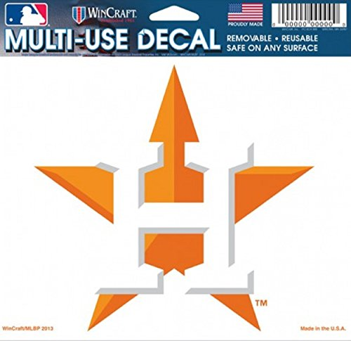 Houston Astros Star Hat Logo Ultra Decal 5 x 6