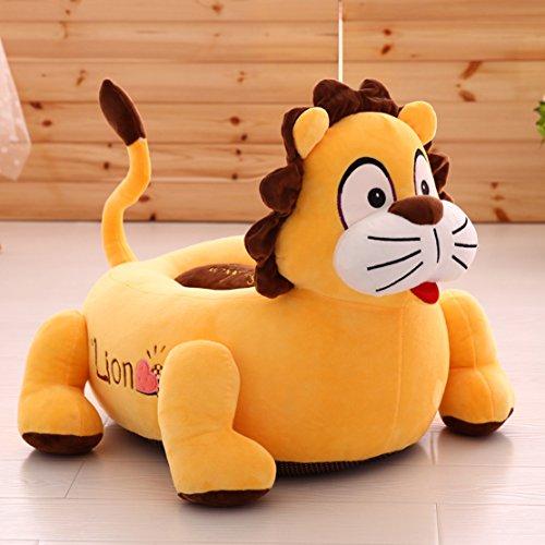 MAXYOYO Super Cute Tiger/Lion Stuffed Plush Toy Bean Bag ...