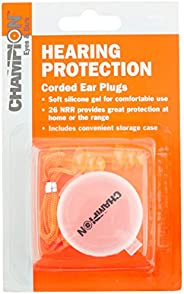 Champion 40962 Gel Corded Ear Plugs with Case
