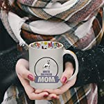 Ceramic Christmas Coffee Mug Mom White Shepherd Dog Funny Tea Cup 11