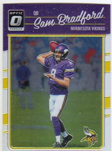 2016 Donruss Optic Football #77 Sam Bradford Vikings (Sam Football)