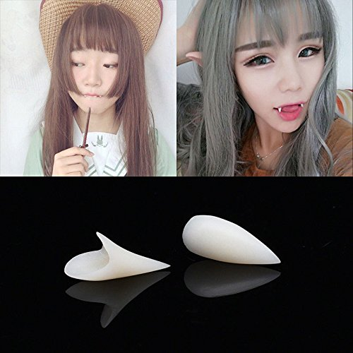 4Pcs Party Vampire False Teeth Toys Tricks Celebration Kids (Homemade Shark Halloween Costumes)