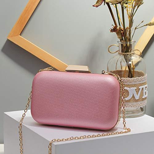 63ebf842a2 Per Pink Donne Borsa Clutch Tracolla Da Le color Sera Black Sposa Funytine  Borse Festa A E UIq1F