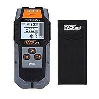 Tacklife DMS03 Ortungsgerät, Detektor, Multifunktionaler Detektor, Großere LCD-Hintergrundbeleuchtung für Magnetische / Nicht-magnetische Metall, AC-Draht, Holz-Finder, 80 mm Ortungstiefe