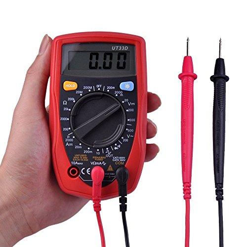Ulincos Digital Multimeter UNI-T UT33D Amp / Ohm / Volt Mete