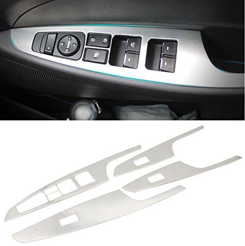 Chrome Zubehö r Autoteile Fensterheber Fü r Tucson 2015-2017 autoparts188