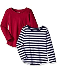 Girls' 2-Pack Long-Sleeve Tees