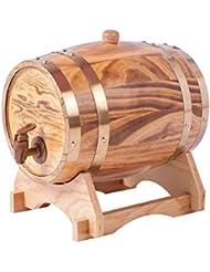 Oak Barrels 30L Wooden Barrel For Storage Or Aging Wine Spirits Vintage Style Tabletop Wine Dispenser Barware Wine Accessory Sets Wine Barrels Light Yellow