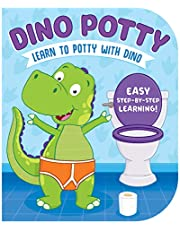 Dino Potty-Engaging Illustrations and Fun, Step-by-Step Rhyming Instructions get Little Ones Excited to Use the Potty on their Own!