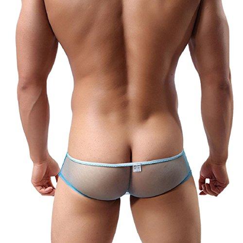 Abbigliamento Amison Azzurro Trasparente Slip Garza Triangolo Comodo Slip Men Sottopantante wIqIZBFRx