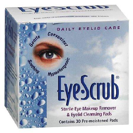 Eye Scrub - Eyelid Cleanser - 30 per Box - Pad