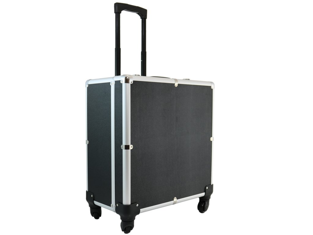 D'Luca Accordion Case with Wheels, 16L X 16.5H X 8W