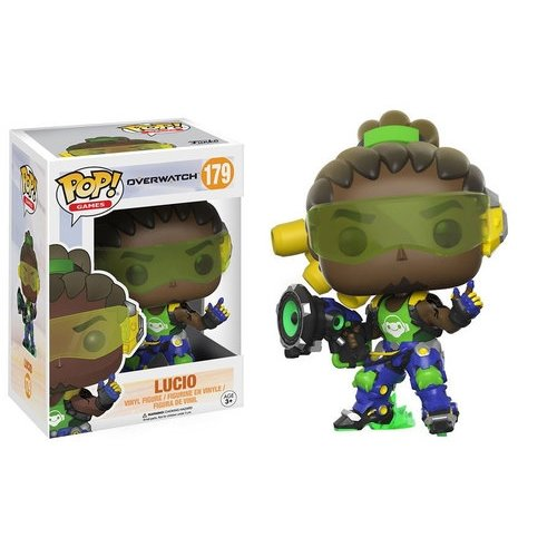 Funko Pop! Games: Overwatch - Lucio Vinyl Figure