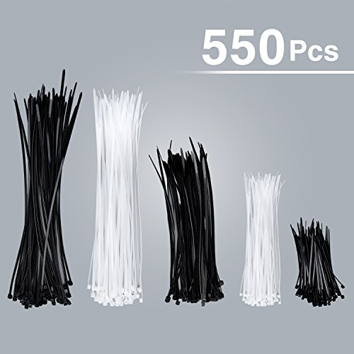 Halloween DIY 550 Pack Zip Ties Heavy Duty Cable Ties zip tie (4