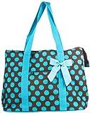 Ever Moda Polka Dot Tote Bag X-Large