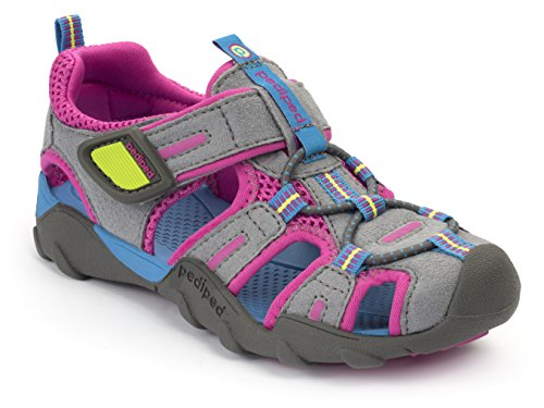 227cb85e2bd05 Pediped Girls Flex Canyon Sport Sandal