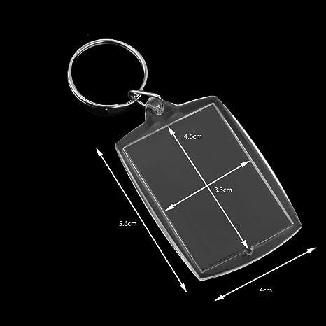 Amazon.com: Baoblaze - Llavero de plástico acrílico para ...