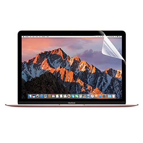 ProElife [2-Pack] Clear 12 Inch Screen Protector for Apple MacBook 12 Inch with Retina Screen (A1534), 5H Hardness Anti Scratch Protector Filter High Definition Clarity Screen Guard Film Protector