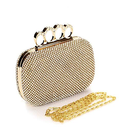 Ladies Purse Couleur Femmes Or Womens Dames Soirée Clutch Diamant Noir Sacs Styhatbag Clutch Crystal Girls Party Mariage Clutch Sac Strass De Box 7xBCw5fq