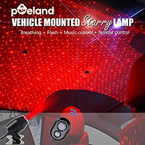 Sweepstakes: Poeland Car Interior Lights USB Star Projector Laser Lights