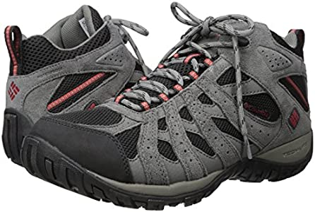 Columbia Men's Redmond Mid Waterproof Boot, Breathable, High Traction Grip Hiking