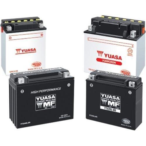 Yuasa YTX20CH-BS 0.82 LITER High-Performance AGM Maintenance-Free Battery (ea) for Arctic Honda Kawasaki Moto Guzzi Suzuki Bikes