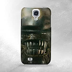 Alien Head - Samsung Galaxy S4 i9600 Back Cover Case - Full Wrap Design