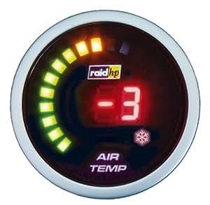 Raid hp 660543 Night Flight Digital - Termómetro exterior digital, color rojo