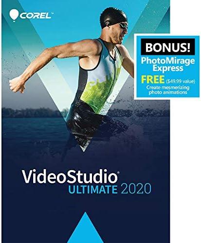 Corel VideoStudio Final 2020 – Video & Film Enhancing Software program – Slideshow Maker, Display screen Recorder, DVD Burner – Premium Results from NewBlueFX, Boris FX, ProDAD – Free PhotoMirage Categorical [PC Download]