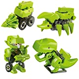 Dinosaur Stem Toys for Boys, 4 In 1 Take Apart Toys, Transforming Robot Kit, DIY Educational Building Toys Include Robot, Dinosaur, Insect and Drilling Machine
