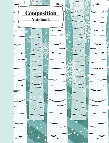 Composition Notebook: Birch Trees School Writing Journal ()