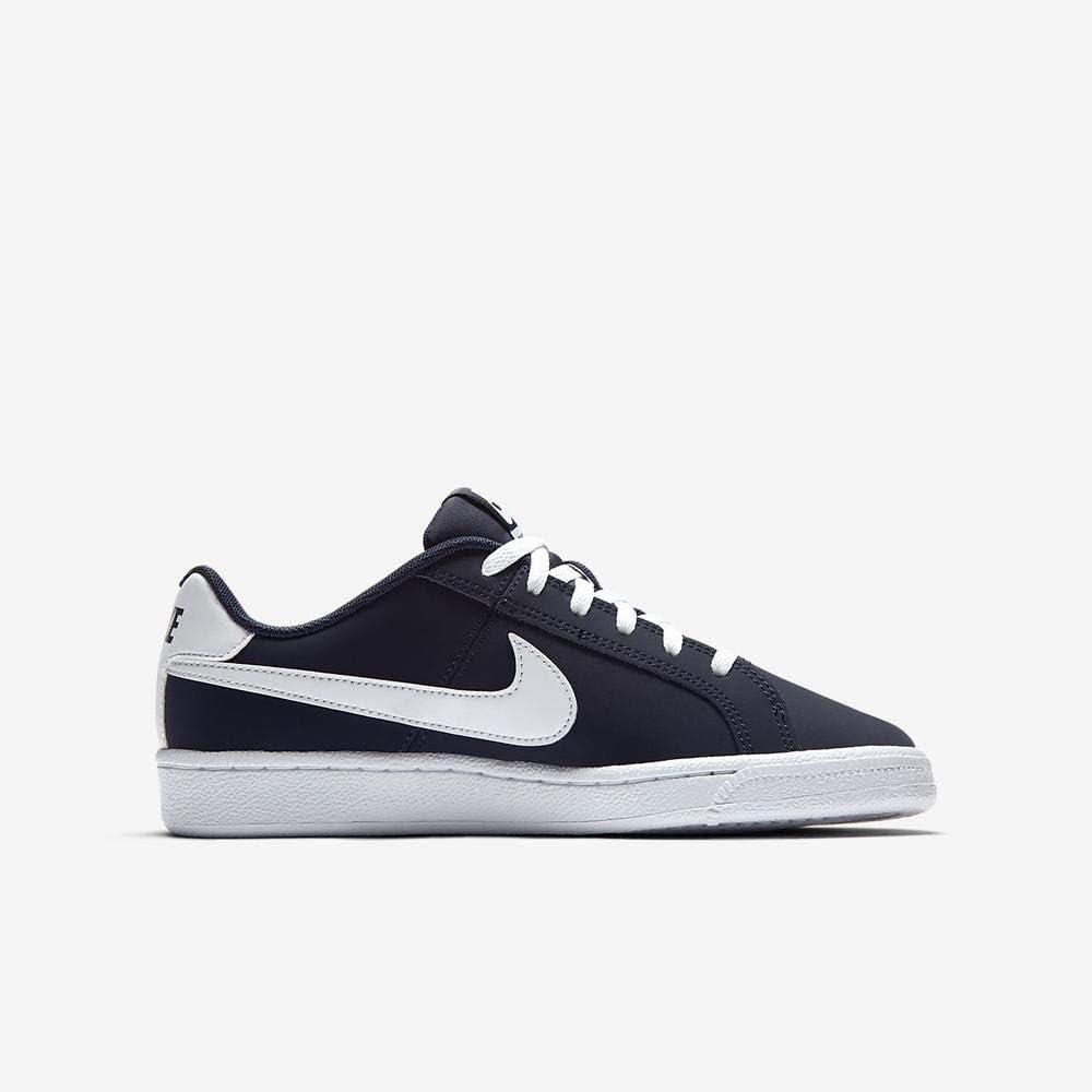 Nike Jungen Court Royale (Gs) Turnschuhe, weiß Blau Weiss