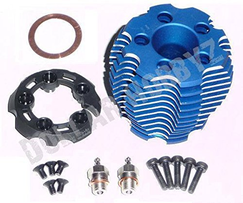 (TRAXXAS TRX 3.3 COOLING HEAD, PROTECTOR & SCREWS, 5238R, 5228, 5292, 2584.)