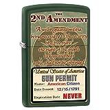 Zippo Second Ammendment Rights Gun Permit Lighter