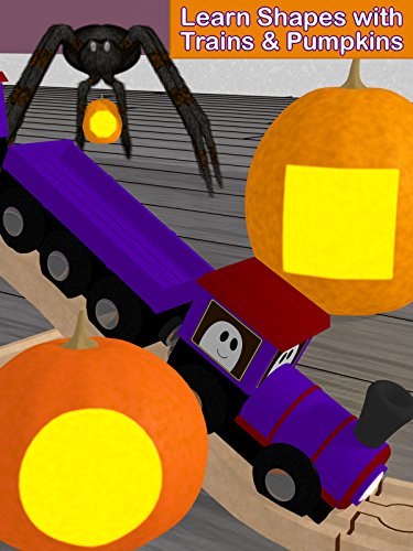 Learn Shapes with Trains & Pumpkins -