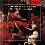 Anthologie de la poésie de langue française |  divers auteurs
