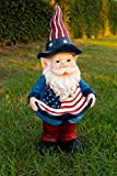 Alpine Bear Statue with Color Changing LED Lights, 12 Inch Tall