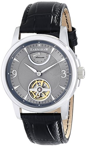 Thomas Earnshaw Men's ES-8014-04 Flinders Analog Display Automatic Self-Wind Black Watch