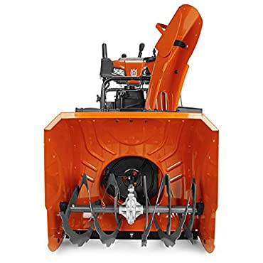 Husqvarna ST224P 24 208cc Two Stage Electric Start with Power Steering Snowthrower 961930122