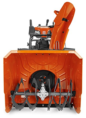 Husqvarna ST224P, 24 in. 208cc Two-Stage Gas Snow Blower with Power Steering and Electric Start ()