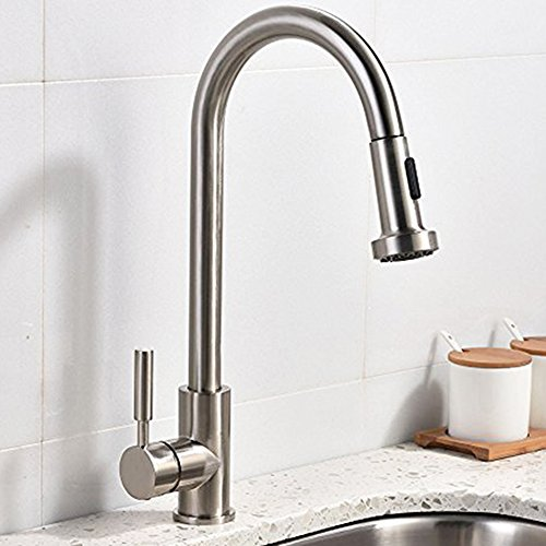 Commercial Stainless Sprayer Brushed Kitchen