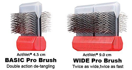 ActiVet Mat Zapper Red German Grooming Brush 9.0 cm