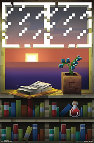 Trends International Minecraft Window Wall Poster 22.375
