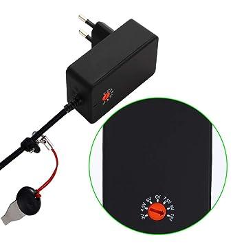 Docooler KKMOON DYF-S-A018-01A Adaptador de Corriente Interruptor Alimentación AC DC 3V a 12V Mejorado Cargador Universal Ajustable Sugerencia de ...